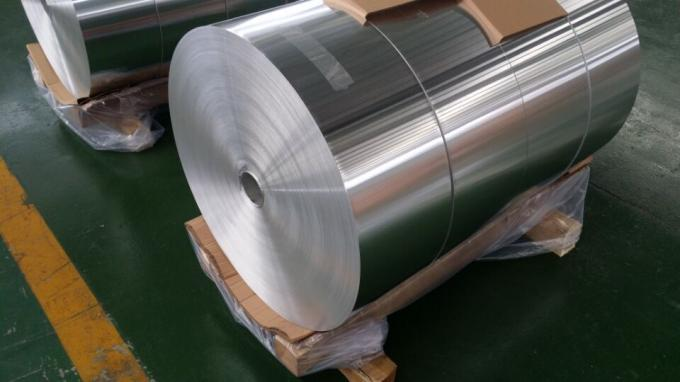 Auto Radiator Aluminium Heat Transfer Foil With Flexible Thickness 0.08mm - 0.30mm