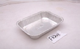 Airline Aluminum Foil Food Containers / Aluminium Trays For Food Sealing