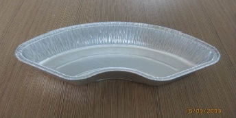 Chinese Dumpling Aluminium Foil Container Food Grade With Standard Weight