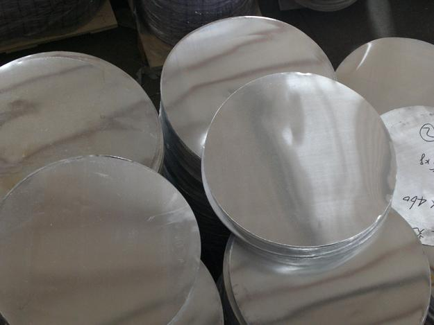 Alloy 1050 Pure Aluminum Circle 96.95 - 99.70% High Thermal Conductivity