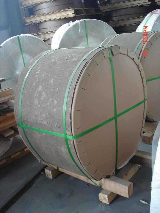 Mirror Embossed Aluminum Coil Polish Finished 6061 Thickness 0.2 - 3.0 mm