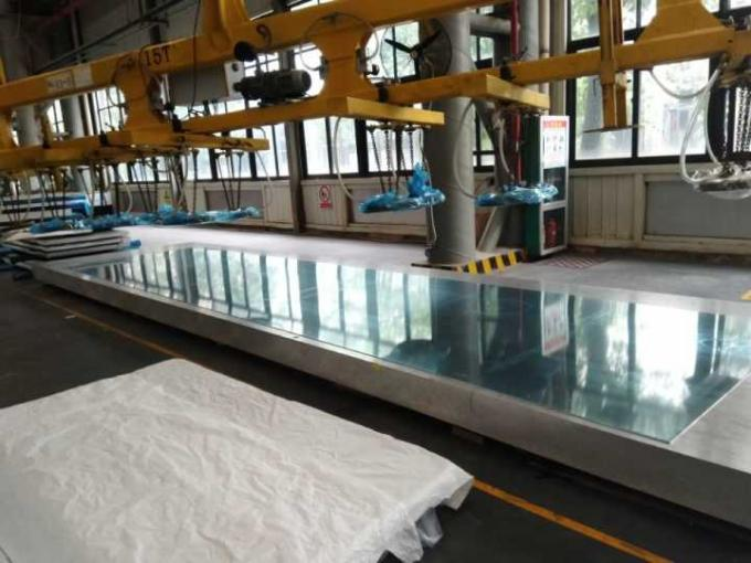 100 Mm Thickness Automotive Flat Aluminum Plate With 1000-13000mm Length