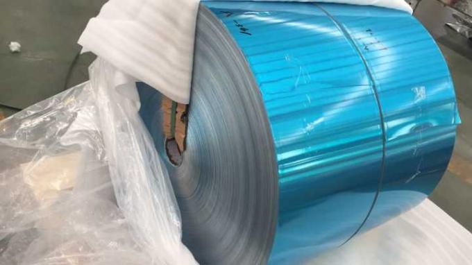 Epoxy / Hydrophilic Coated Heat Exchanger Aluminum Foil For Air Conditioner