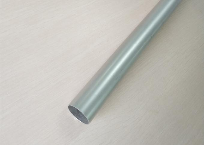 Mill Finished Extruded Aluminum Tube Profile Round Shaped Standard Export Packaging
