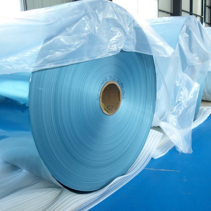 Coated Hydrophilic Aluminium Foil Roll / Fin Stock For Air Conditioner