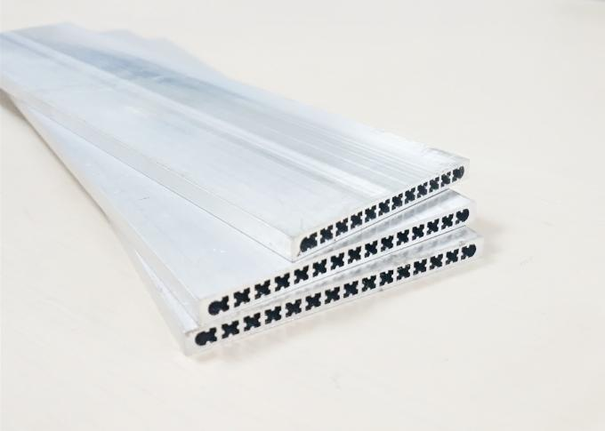 Micro Multi Port Extruded Tube Aluminum Spare Parts , Condenser Aluminum Auto Parts
