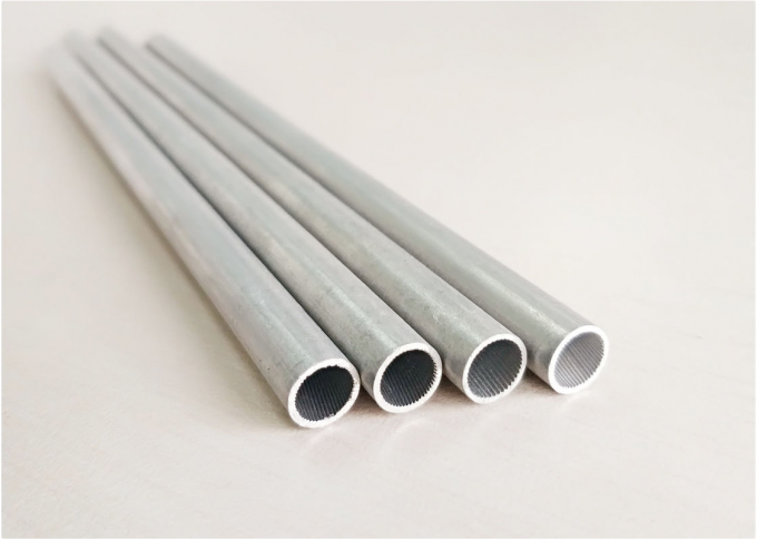 Round / Oval Extruded Aluminum Tube For Heat Changer & Automotive Air Conditioner