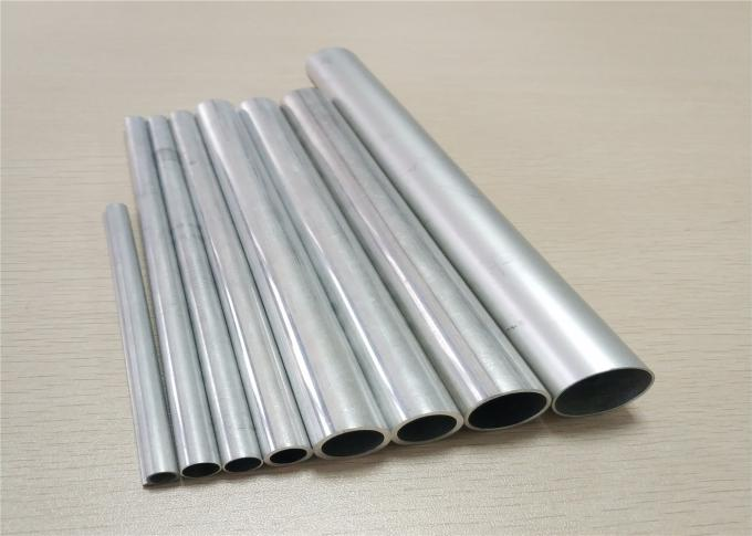 Recyclable Non - Toxic Aluminum Spare Parts Heat Transfer High Frequency Tube