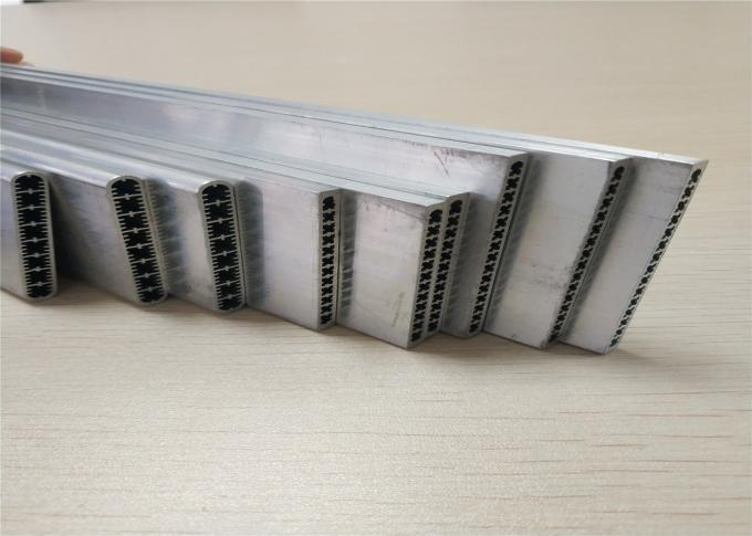Auto Air Conditioner Aluminum Car Parts Extruded Channel Multi - Port Tube