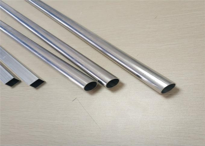 Auto Aluminum Radiator Parts High Frequency Round Tube For New Energy Cars