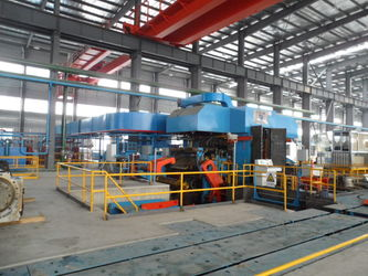 Trumony Aluminum Limited factory production line