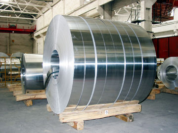 China Fireproof Aluminium Strips Ratio Frequency Cable Packing Aluminum Strip Coil supplier