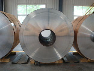 China 8011 1050 1060 1145 1235 Aluminum Strip For Cable / Optical Fiber Armor supplier