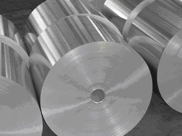 China Alloy 8079 Bare Aluminum Foil Roll For Laminated / Soft Packaging Class B Wettability supplier