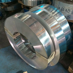 China 3003 Ho Aluminium Strips with Smooth Silver Round Edge 3.0mm * 142mm supplier