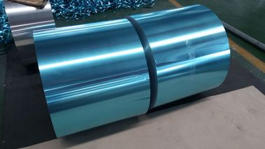China Household Air Conditioner Coated Aluminium Foil Rolls 0.08mm Thick No Stranger Odor supplier