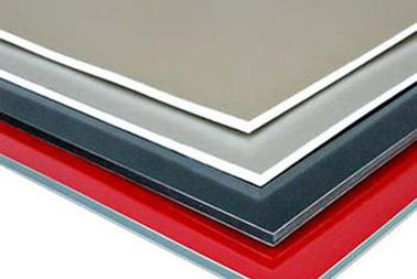 China Temper H14 Coated Aluminum Foil / Aluminium Panel Back Base Bright Colors Fireproof supplier
