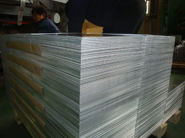 China Plain Aluminium Alloy Sheet For Construction , Decorative Aluminium Sheet supplier