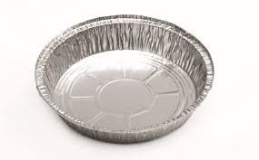 "China 7"" / 8"" Round Aluminium Foil Pan Food Grade For Keeping Lunch Fresh ISO 9001 supplier"