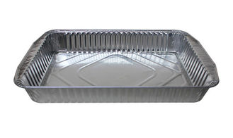 China Airline Aluminum Foil Food Containers / Aluminium Trays For Food Sealing supplier
