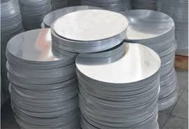 China Kitchenware Aluminum Circles Round Shape 0.5 - 8.0mm Thickness Mill Finish supplier