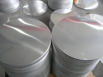 China Road Sign Anodized Non Ferrous Aluminum Wafer 100 - 1000mm Alloy 1050 1060 supplier