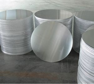 China 1050 / 1100 / 3003 Hot Rolling Aluminum Circle Round Piece For Cooking Industry supplier