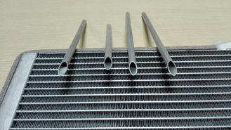 China Internally Enhanced Round Aluminum Tubing 3003 / 3103 Threaded Aluminum Pipe supplier