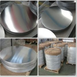 China Traffic Sign Aluminium Discs Hot Rolled / Cold Rolled With Smooth Surface supplier