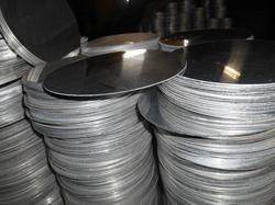 China Waterproof Silver Aluminum Circle / Aluminium Round Thickness 0.5 - 8.0mm supplier