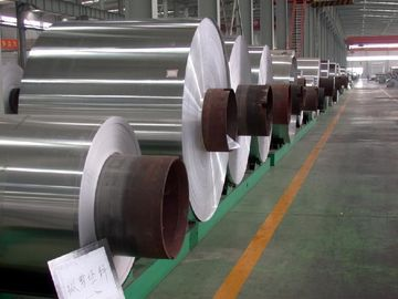 China Embossed Stucco Aluminum Coil For Refrigerator Production 0.06 - 3.0 mm Thickness supplier