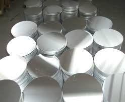 China Hot Rolled Half Hard Aluminum Circle 1060 / 1050 H24 Aluminium Disc Lower Intensity supplier