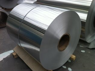 China Cold Rolled Aluminium Coil / Aluminum Strip Coil Anti Rust 2 - 2200mm Width supplier