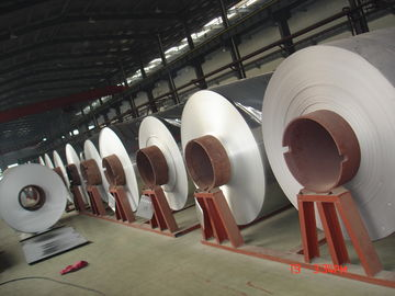China Mirror Embossed Aluminum Coil Polish Finished 6061 Thickness 0.2 - 3.0 mm supplier