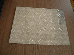 China 3003 Aluminum Alloy checkered Plate with 2 bars  for building supplier