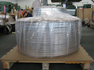 China Thick Aluminum Strips , Sheet Metal Strips For Cable Shielding And Armor Jacket supplier