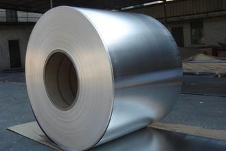 China 3102- H24 Aluminum Bare Foil , Aluminum Foil Roll Width Can Be 50 - 800mm supplier