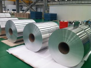 China Thickness 0.08-0.2mm Finstock  8011-H24 Aluminum Bare foil applied for refrigrrator supplier