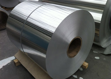 Lubricated Food Grade Alloy  8011 Aluminum Foil For Container HO - H24