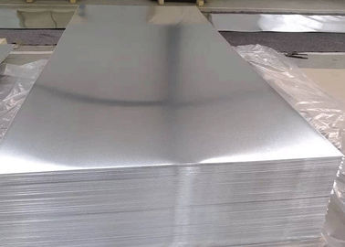 China 8000 Series Plain Aluminium Alloy Sheet For Decoration And Construction supplier
