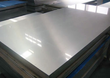 China Trailer Use Thin Aluminum Sheet , Aluminium Sheet 3mm Mill Finish Surface Treatment supplier