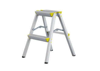 China Mobile Aluminium Folding Ladder , Aluminium Ladders Corrision Resistant supplier