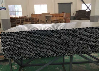 China Precision Round Aluminum Tubing 3003 H111 For Heat Exchanger Cooling System supplier