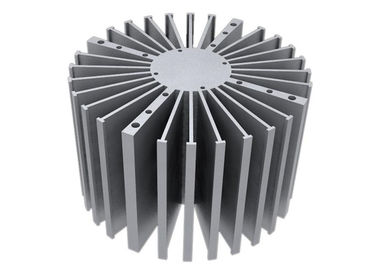 China 6000 Series Aluminum Heat Sink Extrusion Heating Radiator For Led Light supplier