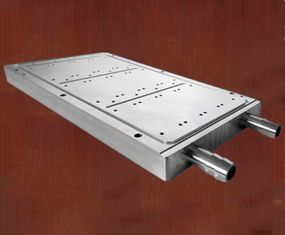 China 3003 / 4045 Extruded Aluminium Channel Water Cooling Plate Customizable supplier