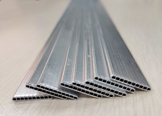 Silver 1000 Or 3000 Series Micro Multiport Extruded Aluminium Tubes Environment Friendly