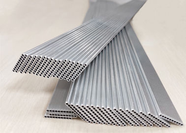 China Mill Finish Micro Multi Port Extruded Aluminum Tube O / F / H111 / H112 For Evaporator supplier