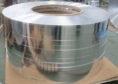 China Thickness 0.05 - 0.6mm Hot Rolling Aluminium Strip / Tape For Cable Transformer supplier