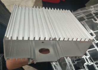 Extrusion Heat Sink Radiator Aluminum Spare Parts With Customized Made