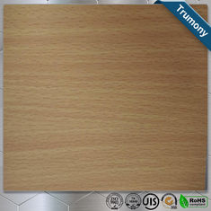 China Wooden Pattern Grain Aluminum Painting Panels ACP For Decoration Using supplier